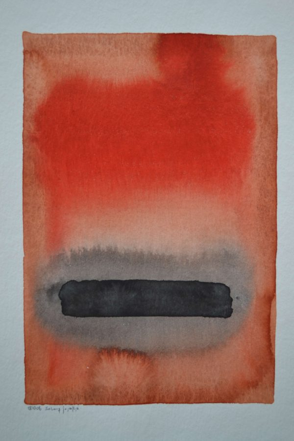 Aquarelle Abstrakt 08
