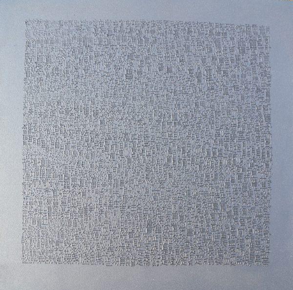 Japanese Characters II  35×36 cm Acryl Holz